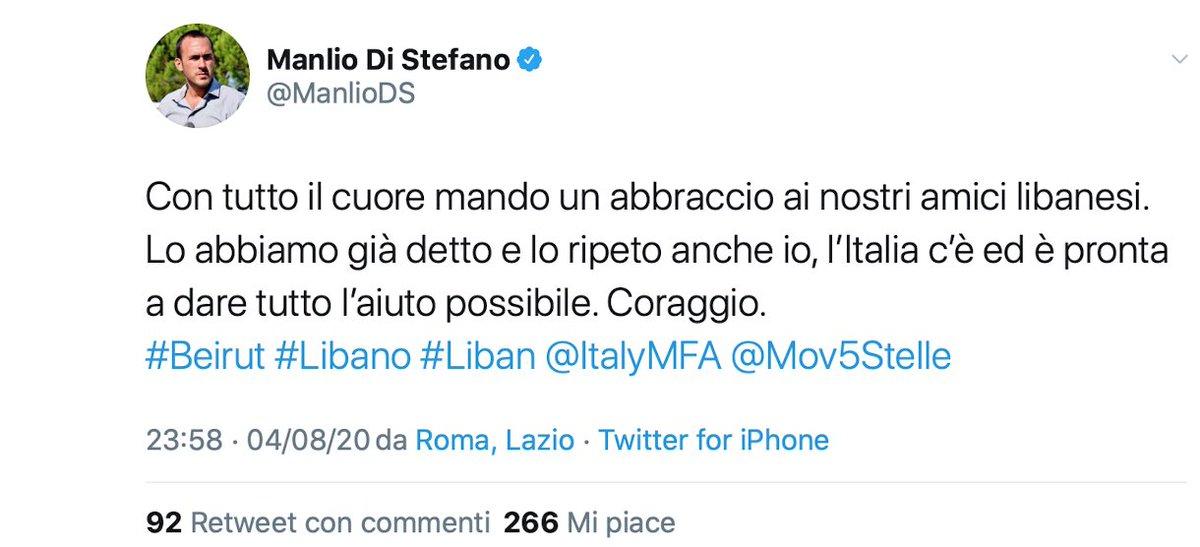 #ManlioDiStefano