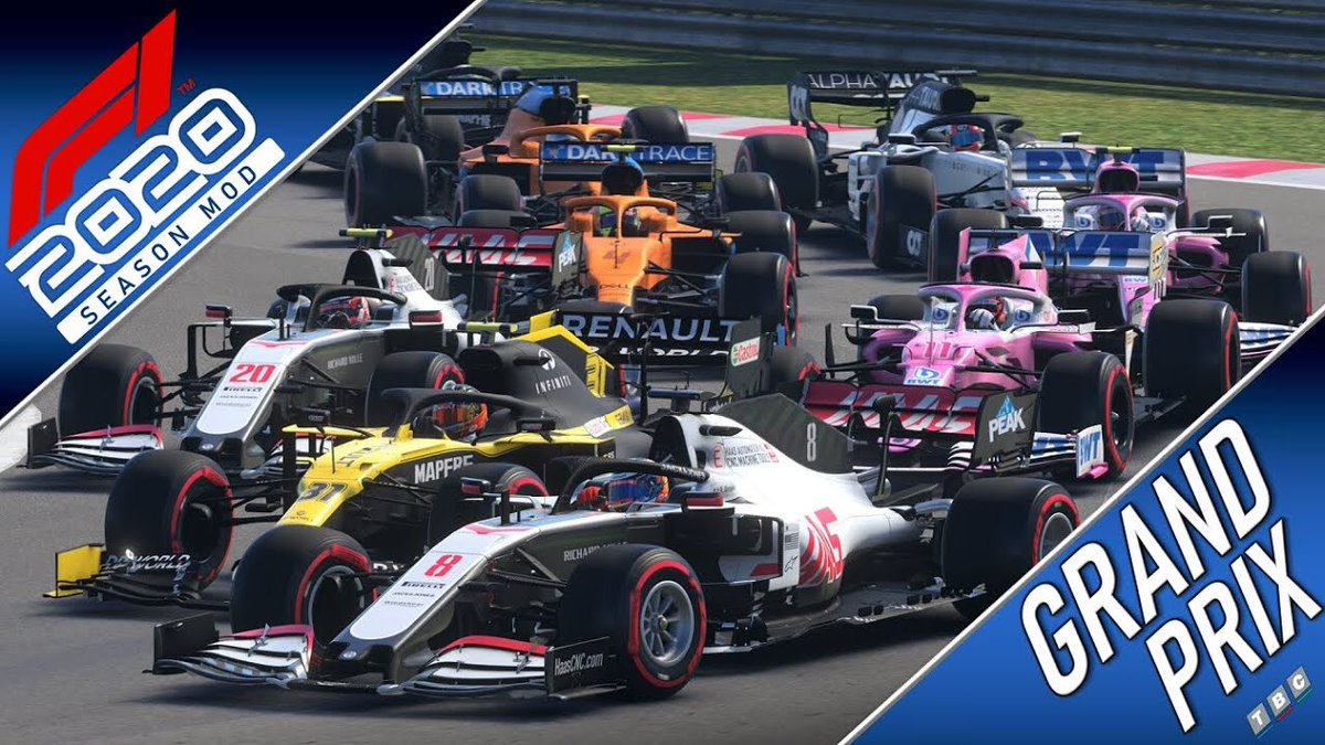 So who's ready for some F1?   Tonight at 8pm it's highlights of the Canadian Grand Prix, set a reminder here ⬇️  ▶️ https://t.co/E6lh4N1r6y ◀️  #F12020 #f12020game #GrandPrix https://t.co/QQ8Zw8nLGl