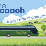 Image for the Tweet beginning: Coach travel supports the government's