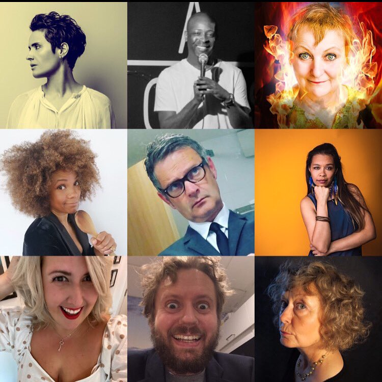 Fab future line ups for MY Comedy Chats. inside track into comedy every Thursday at 20:30. You can join the guest list via eepurl.com/b2Z9V9 @JenBrister @jpattersoncomic @rialina_ @vglee_lee @Isak_Jansson @MonsieurLeMoore @PRVix @charmianhughes #malindamukuma