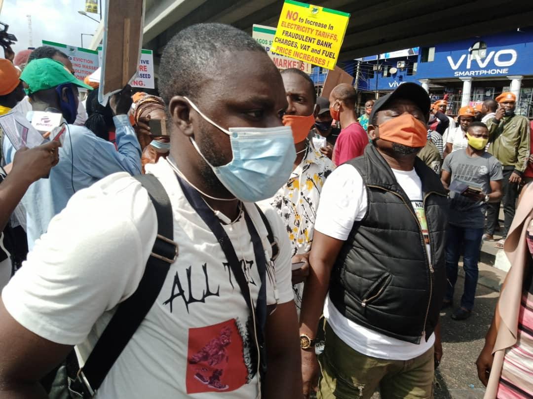 Police disperse RevolutionNow protesters