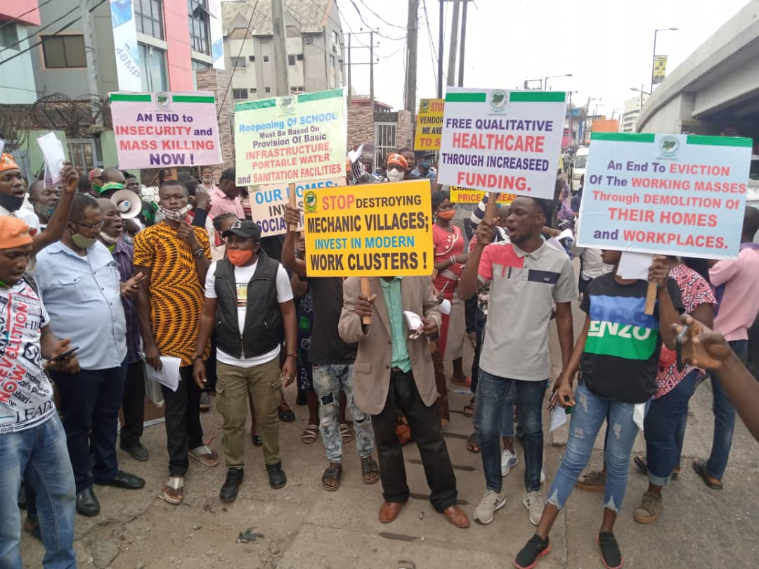 Police disperse RevolutionNow protesters, arrest 10 participants in Lagos