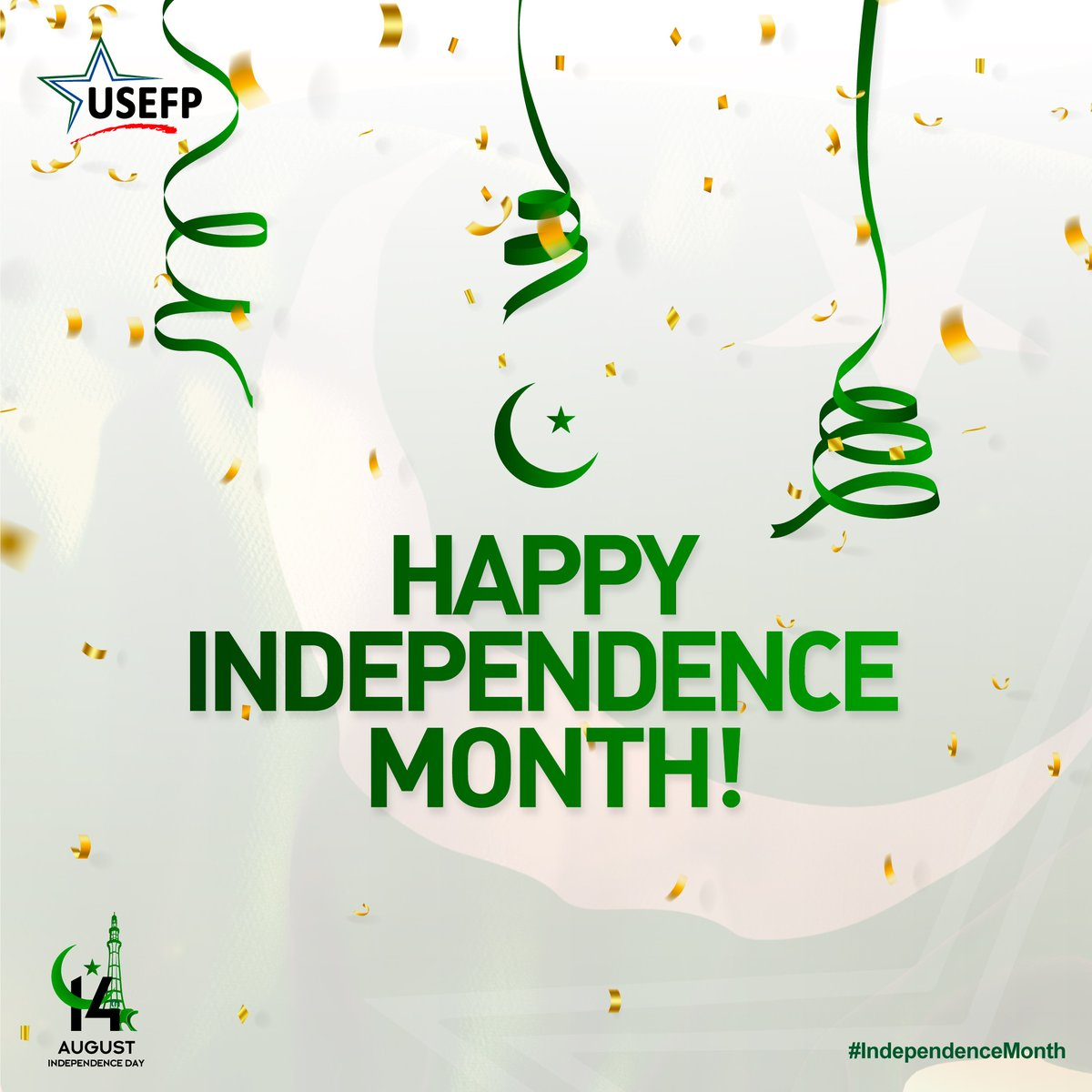 Are you a #USEFP managed program grantee or alum? Share your experience of celebrating 🇵🇰 Independence Day in 🇺🇸 and get featured on our social media. Email us your celebratory picture at communications@usefpakistan.org   #IndependenceMonth  #USPAKStories  #Partners4Prosperity https://t.co/BXphItxuLr