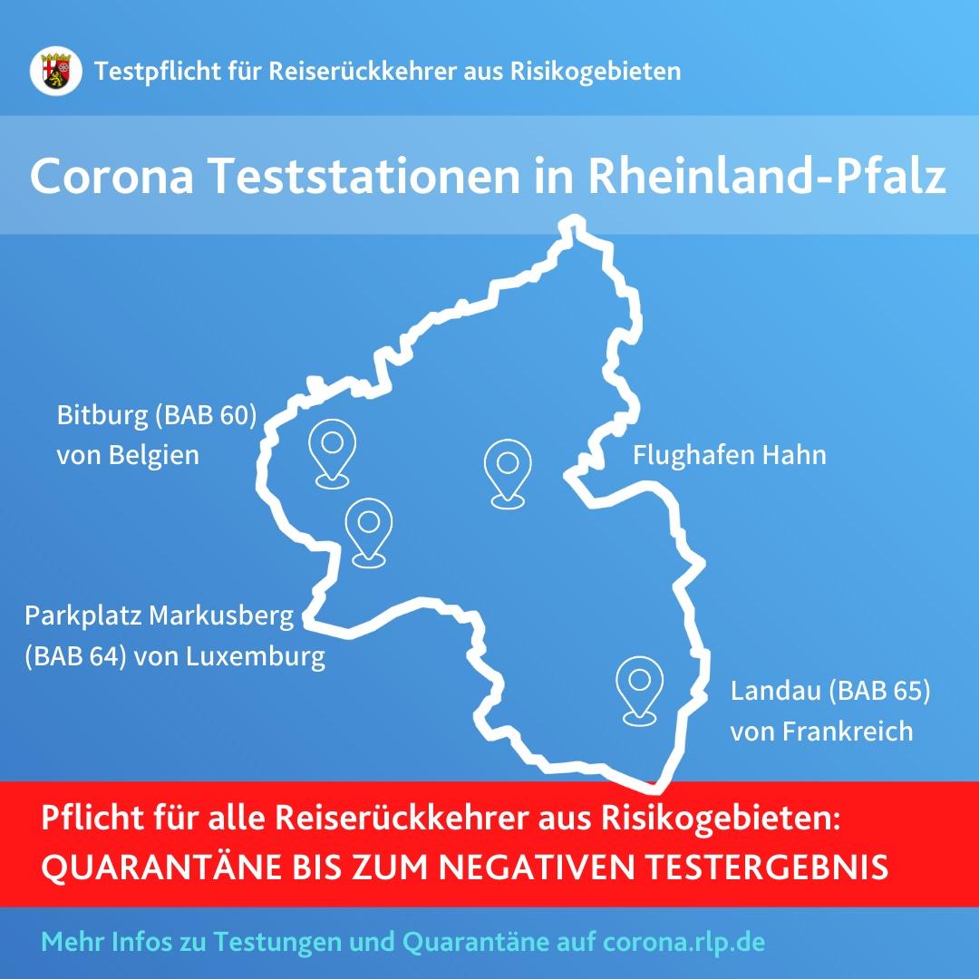 Corona Risikogebiete Rheinland Pfalz - Region Trier Und ...