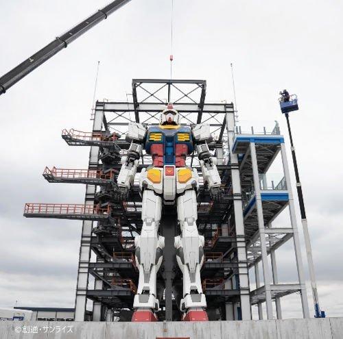 1000RT:【頭部取り付け】横浜の「動くガンダム」 ついに本体が完成ガンダム・ファクトリー横浜は5日、ガンダム本体が完成したと明らかにした。今後は可動部分の調整を進め、年内オープンを目指す。