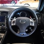 Can you guess which Lexus models these steering wheels belong to?
