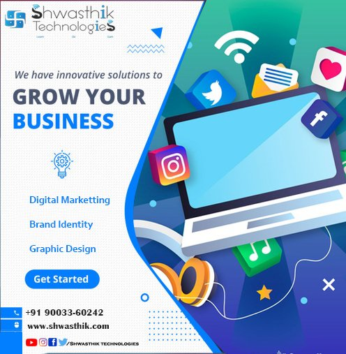 Grow Your Business with us . #shwasthik_technologies #technologies #business #Businessman #businesswoman #Businessowner #businessowners #businesscoach #businesswomen #businesslife #businesstips #businessminded #businessopportunity #businesscards #businesspassion #businessmenpic.twitter.com/SF6xAspq5x