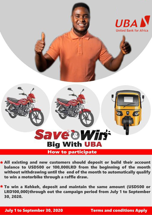 How are you saving? You should join the campaign. See terms below #SaveAndWin #UBALiberia #AfricasGlobalBank https://t.co/EVFSSrHpEw