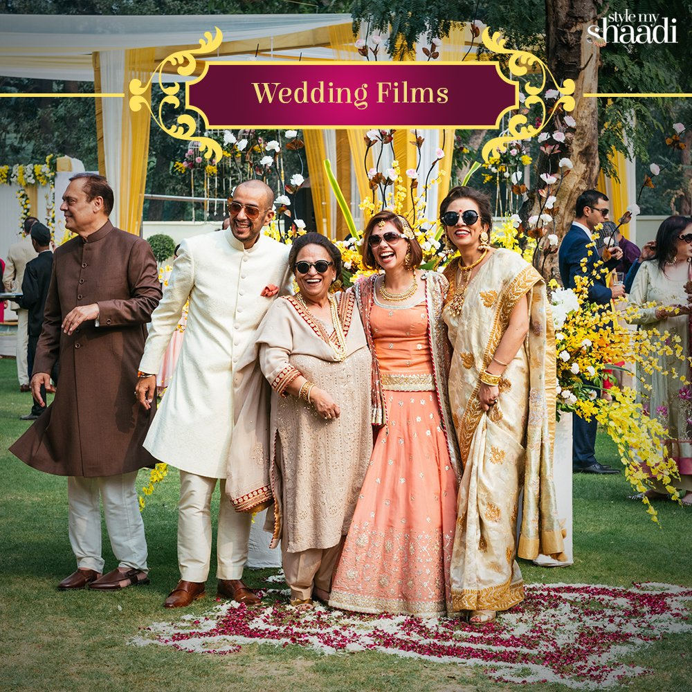 From the days leading to the wedding to the moment the festivities end, our team of talented videographers capture it all for you!  #StyleMyShaadi #WeddingFilms #WeddingFilm #Photography #Cinematographer #WeddingCinematography #WeddingVideographers #Shaadi #Wedding #IndianWedding pic.twitter.com/GYrhameIon