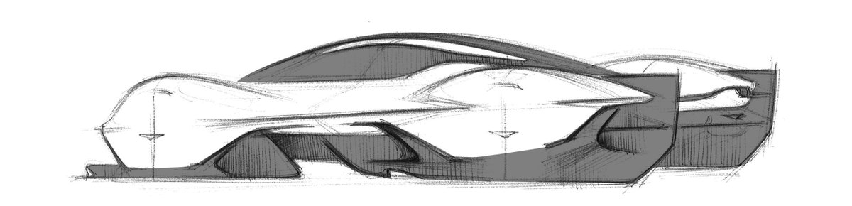 astonmartin: Taking shape.  Sketched by our world-leading designers, the Valkyrie design process begins on the drawing board.  #ThePursuitOfBeautiful #AstonMartinRedBullRacing #Valkyrie https://t.co/JPZ183xu36