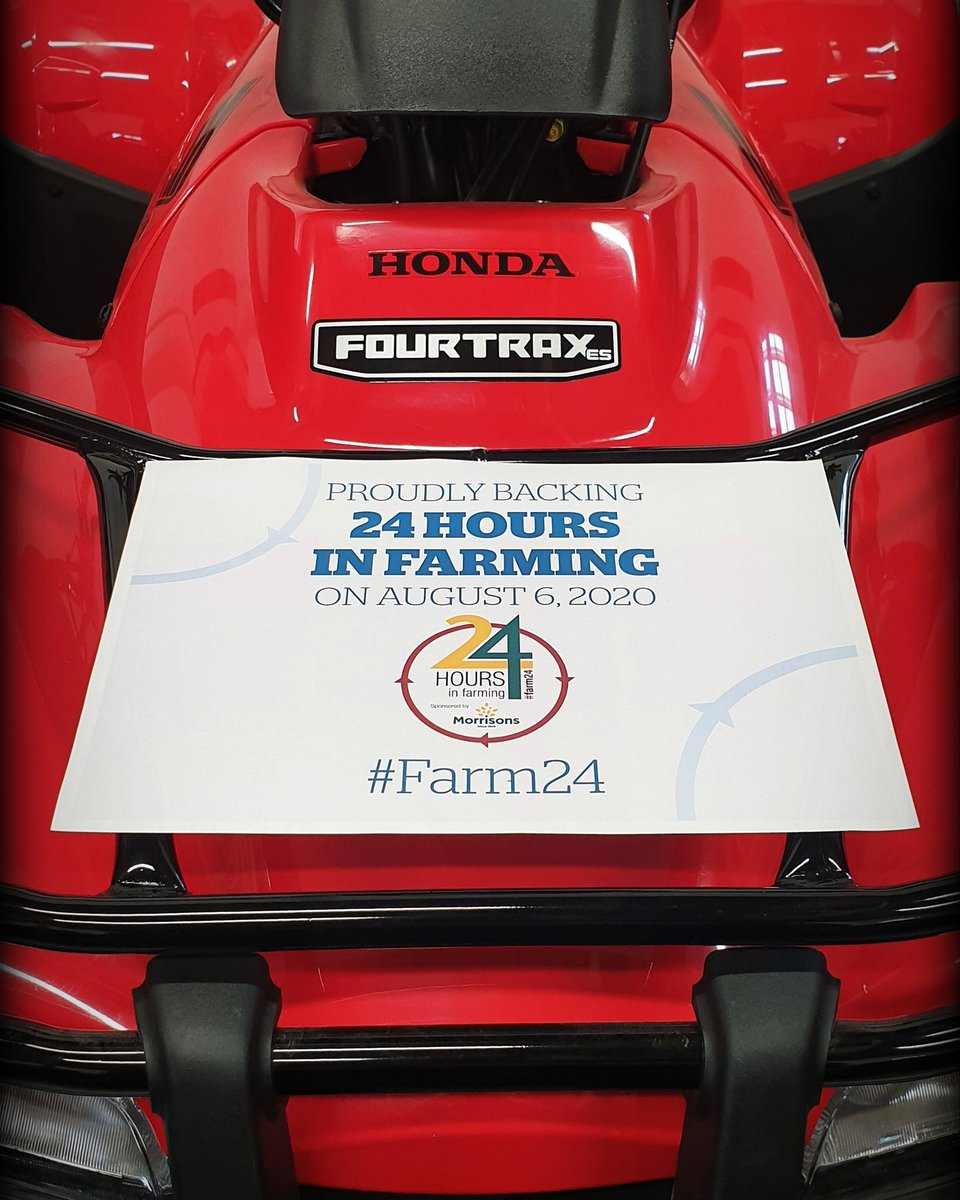 Rican ATV are proud to show our support for the British Agricultural sector by backing #farm24 🐄🐖🐑🐔🚜  @HondaUKPower @FarmersGuardian @Morrisons  #backbritishfarming #farm365 #24hoursinfarming #FarmersGuardian #Morrisons #hondaatv #thepowerofdreams https://t.co/z7KSzWPJuz