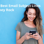 Image for the Tweet beginning: A #subjectline of your #newsletter