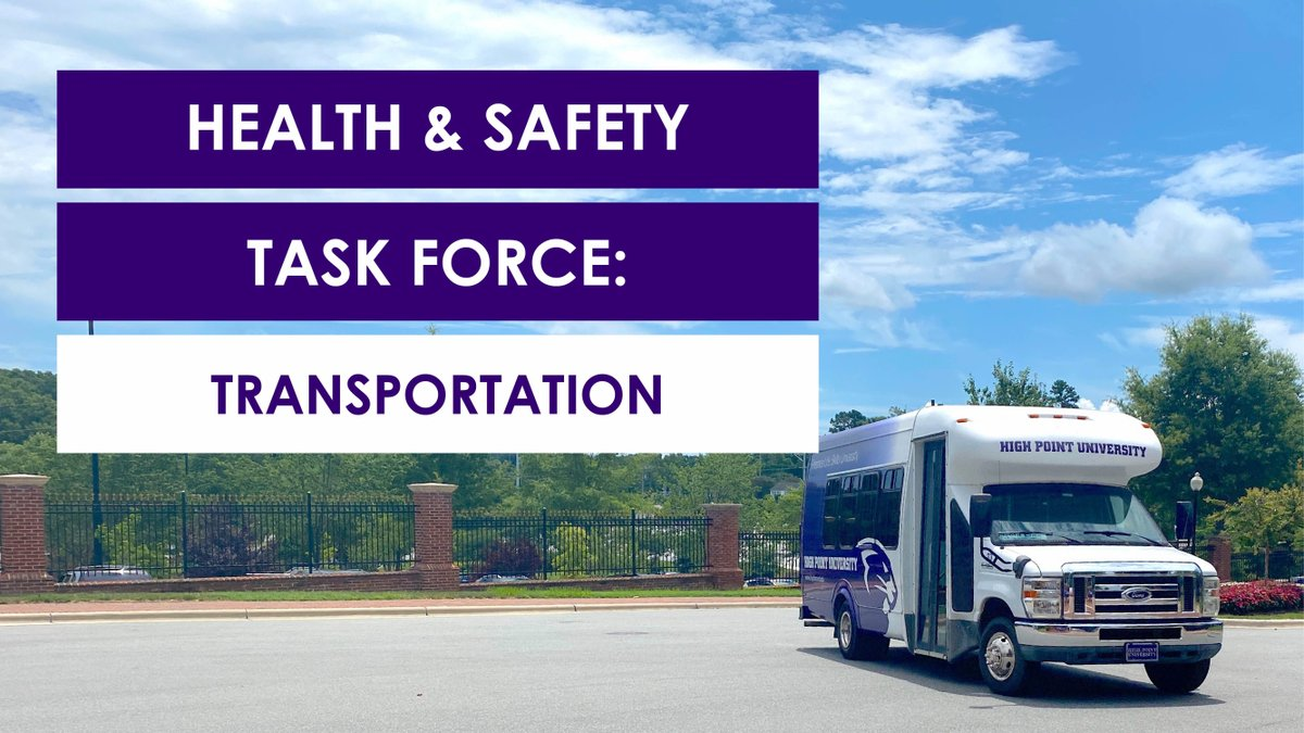 🚌 On-campus transportation is getting safety and cleaning updates! Check out how HPU transportation plans to keep YOU safe, students! #HPU365 #WellnessWednesday