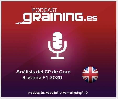 #F1 #Podcast | Podcast Graining Media F1 No. 47 con el análisis del GP de Gran Bretaña 2020 https://t.co/bFPPld2GaY Web: https://t.co/MSCbPNTIph Spotify: https://t.co/tlAYixU5bZ Apple: https://t.co/7W6jd3bwaz iVoox: https://t.co/jt9g9lUmff https://t.co/P1CeZ2Ks2N