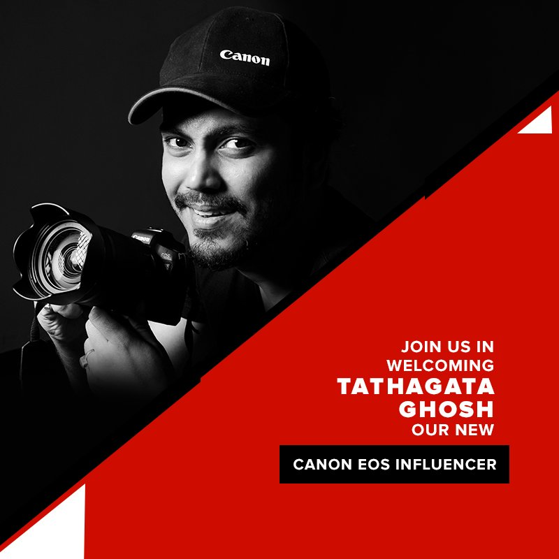 We are pleased to announce Tathagata Ghosh as our new Canon #EOSInfluencer. He is a fashion photographer with over a decade of experience and has conducted shoots for several renowned Indian celebrities.  #MentorsInFocus #DoGreatWithCanon #FashionPhotography #CanonPhotography https://t.co/bXY3dHsKnW