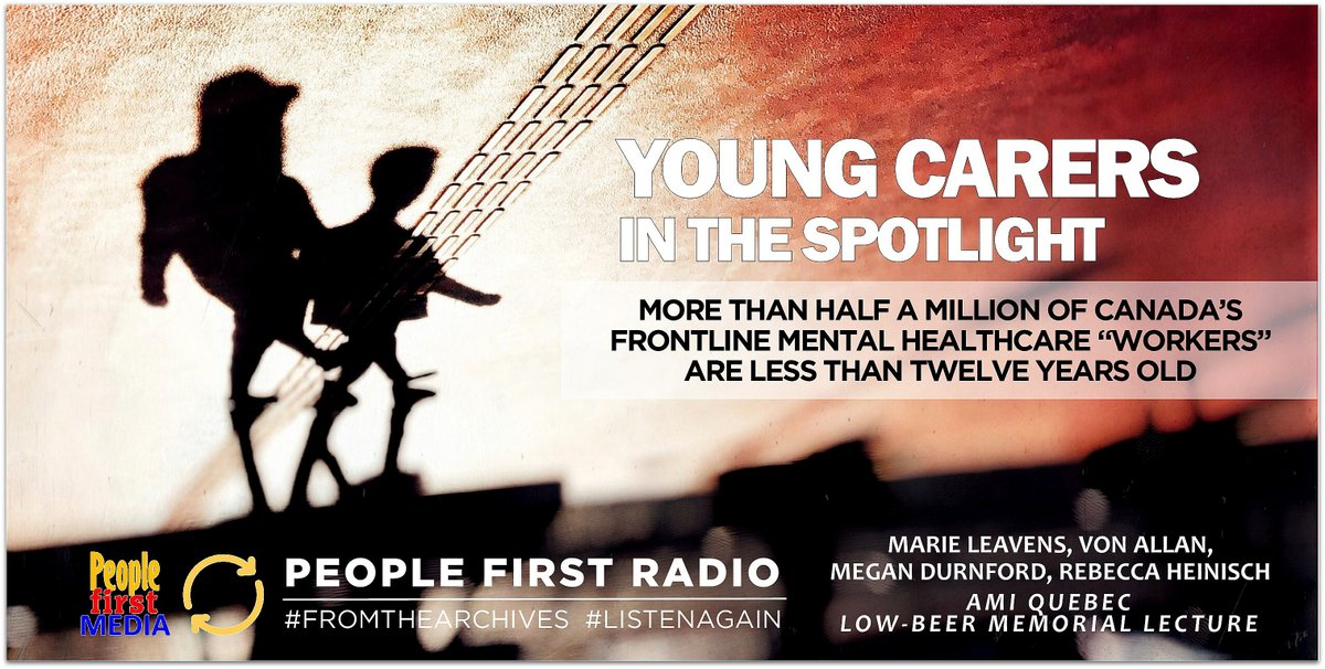 listen | https://www.vancouverislandmentalhealthsociety.org/wp-content/uploads/2019/05/837_young-carers-in-the-spotlight_may-28_2019_40.mp3… | #peoplefirstradio #fromthearchives #listenagain pic.twitter.com/Amh12kKP6m