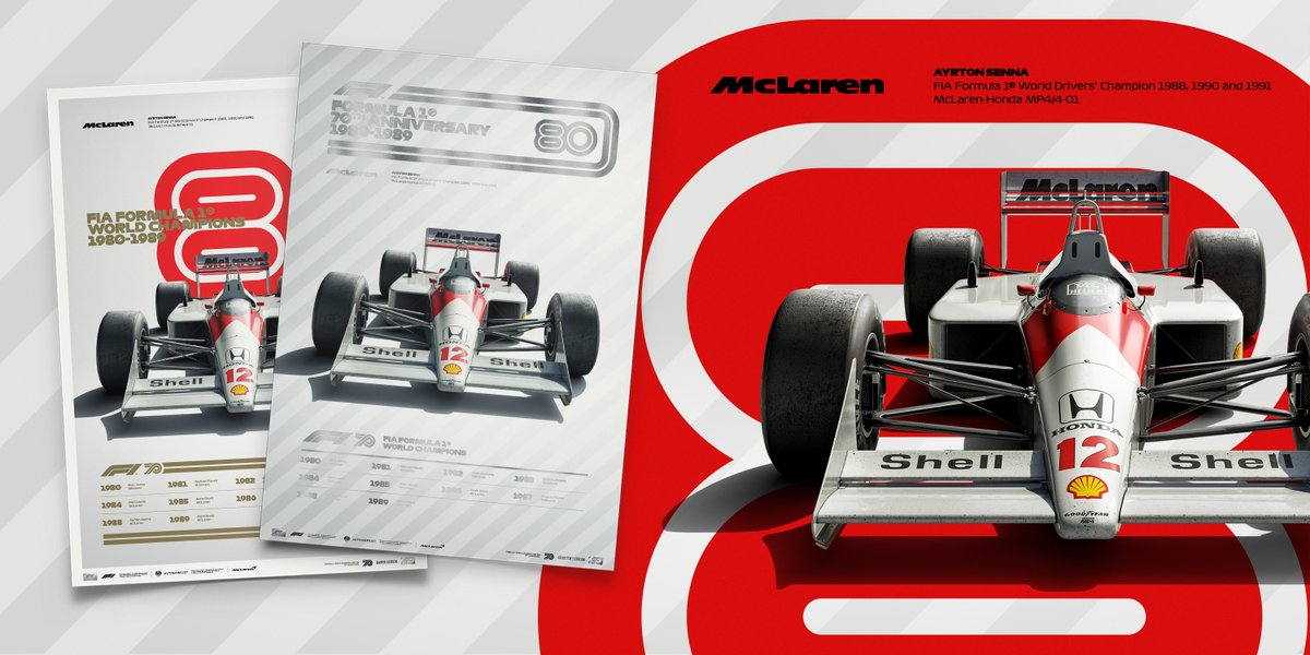We are loving these 1980s McLaren inspired @f1 Decades prints from @IAmAutomobilist. 😍🖼️  Get your hands on them, including the special Collector's Edition, here. ➡️  https://t.co/acNJV2ak5p https://t.co/LkforbQBuE