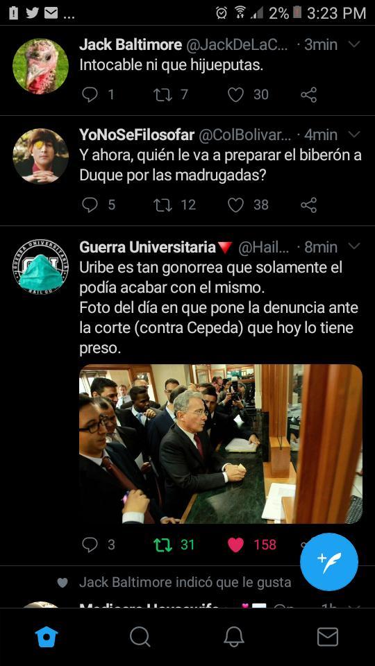 @Ivancho_fdo @BeccariaCesare @GustavoBolivar señor ser bandido que persigue a otro bandidos no te hace menos bandida ademas uribe esta acusado es de comprar testigos las FARC no tiene nada que ver asi qur calmese  y apeguese a la democracia https://t.co/65B5FvcbdY