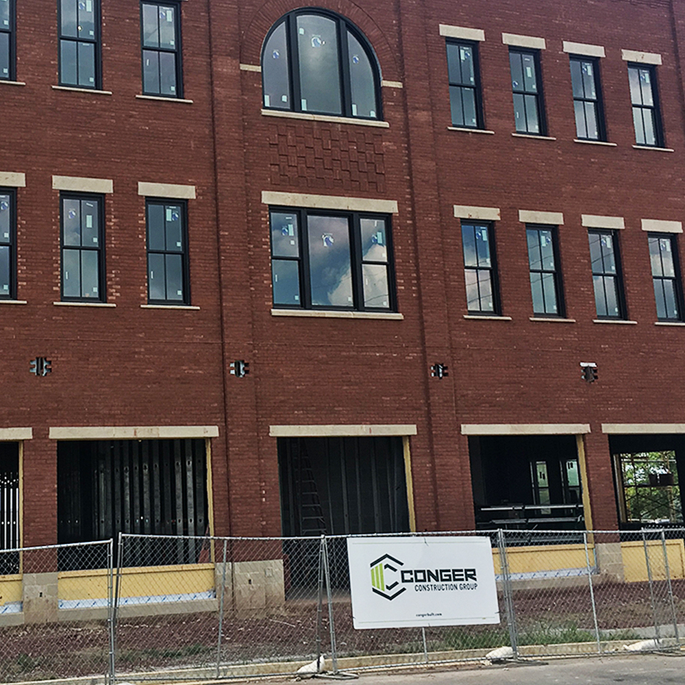 Check out the Town Center Building by @CongerBuilt featuring @Windsor_Windows supplied by Mueller Distributors!