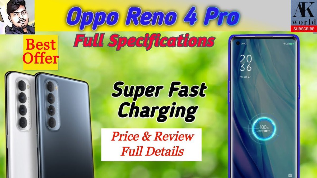 OPPO Reno 4 Pro First Impressions   65W Fast Charging   48MP Quad CAM   3D Curved Display   Review   https://youtu.be/PKJ_Kww4X2c.  #OPPOReno4Pro #oppo #Reno4ProIsHere #65wsupervooc #48MP Quad Camera #5G #AmazonSpecialspic.twitter.com/E2qRnG1bSq