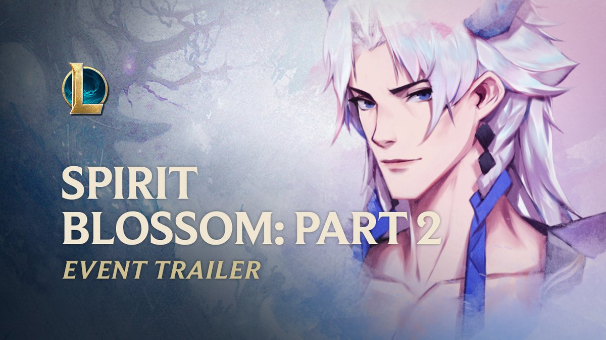 👻🌸 And through our fables, the forgotten live again. Yone, Ahri, Riven, Kindred, and Cassiopeia have joined the #SpiritBlossom festival! 👻🌸