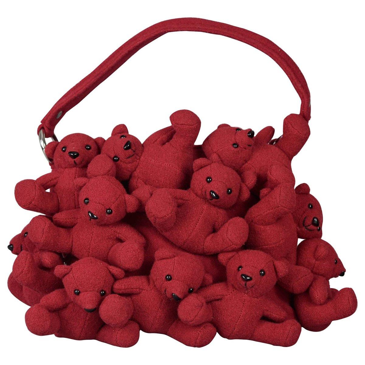 Vintage Moschino Teddy Bear Bag https://t.co/FixCARnTug
