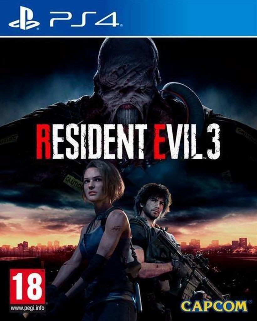 5-resident evil 3 remake  Really good game good graphics and gemeplay but it was too short and it resembled re2 remake too much pic.twitter.com/6sHR1tW32E
