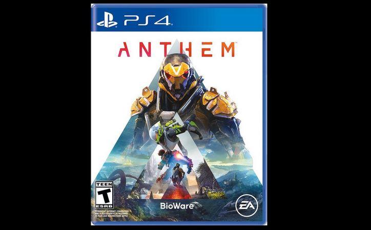 Anthem (PS4/X1) $4.99 via GameStop. 2