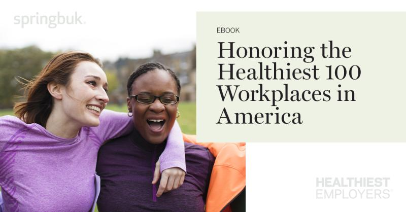 Since 2009, @HealthiestER has recognized employers who are epitomizing what it means to be people-focused. Learn more about 2019's Healthiest 100 Workplaces and how they're building organizations committed to employee and community wellbeing: https://t.co/XsznD5C4pV https://t.co/iFZ2Sdmxcg