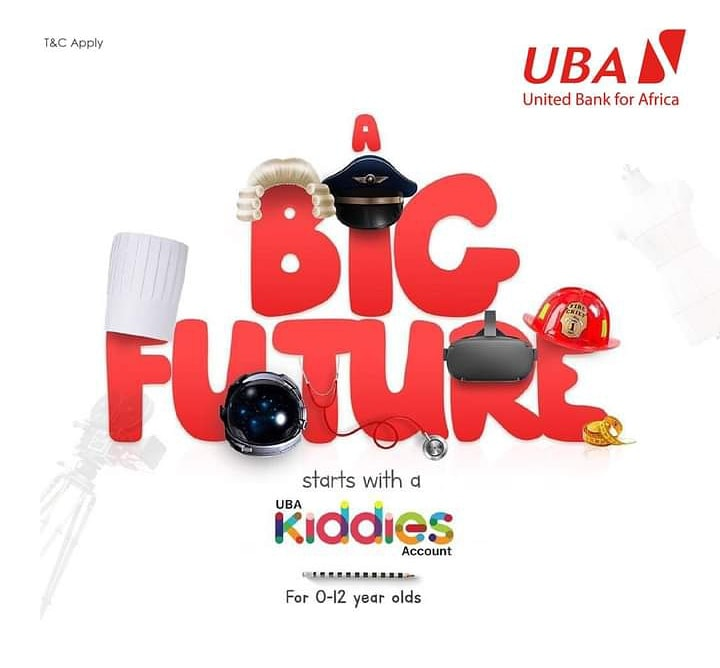 Securing a future for your kids, is the best gift you can ever give them. Open a UBA Kiddies Account today and begin making  your kids dreams a reality.   #UBAKiddiesAccount #AfricasGlobalBank #UBAZambia https://t.co/enoI5RtMnV