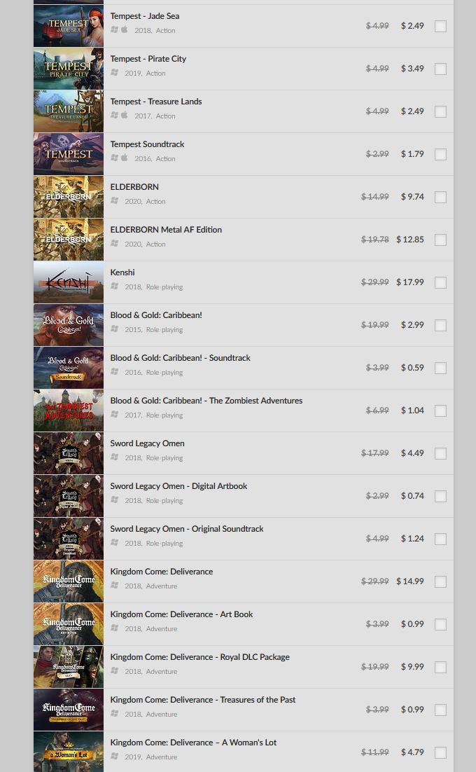 (PCDD) Mid Week Sale via GOG. 2