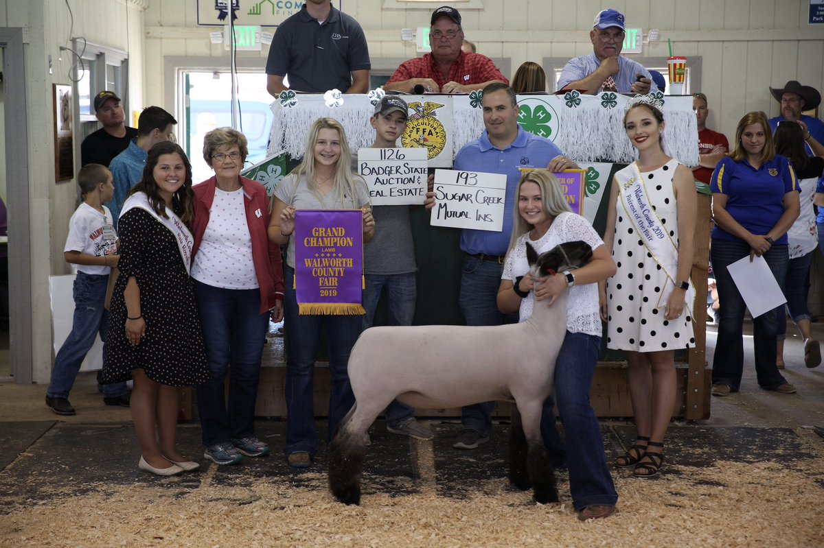 Interested in the 2020 Meat Animal Sale? Learn more here:  https://t.co/EpvvcEZReT   #thankyouforsupportingouryouth #walworthcounty #meatanimalsale https://t.co/2xZ86yt1my