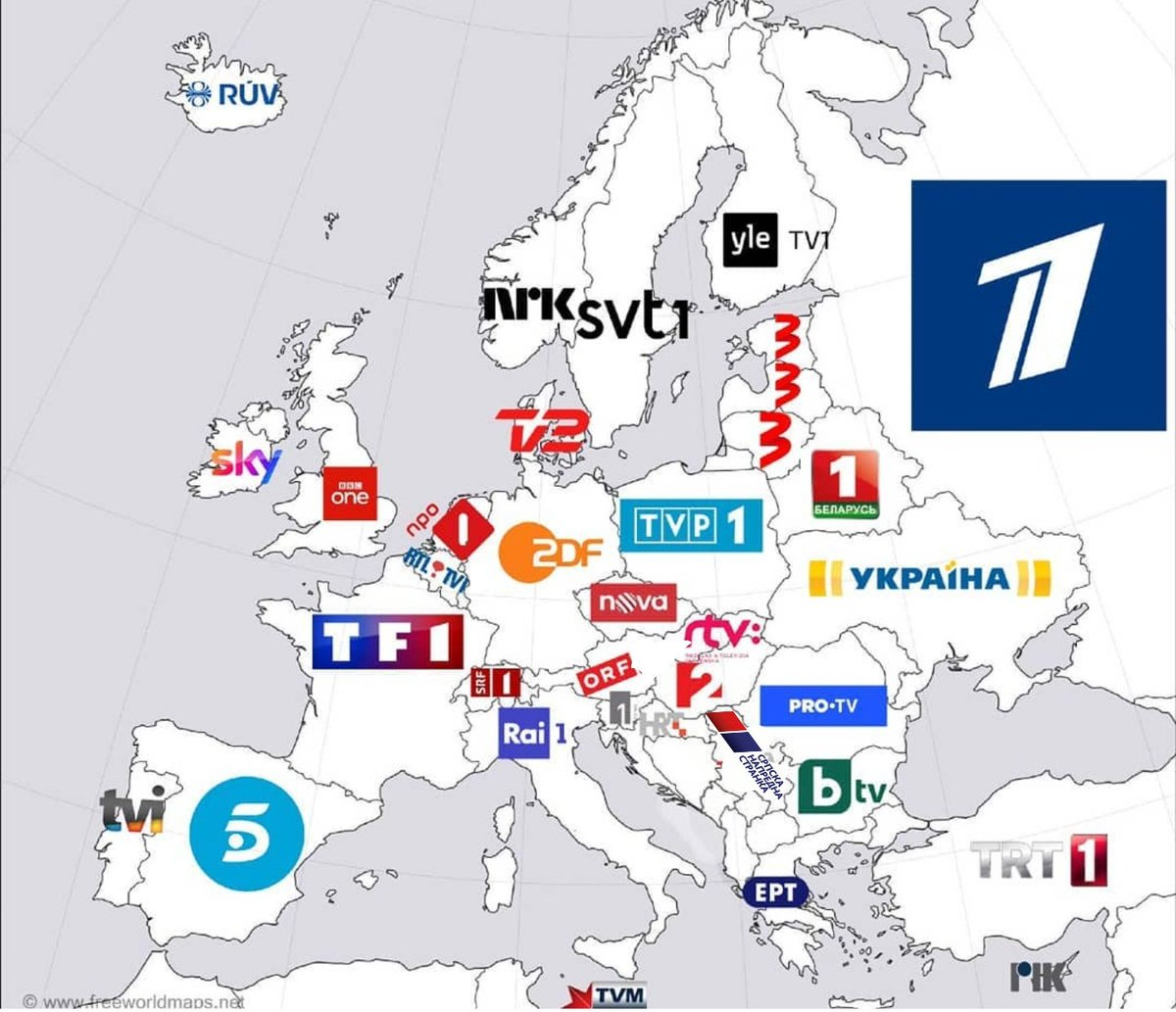 Most viewed TV channels in European countries: pic.twitter.com/EzxNr43VmL