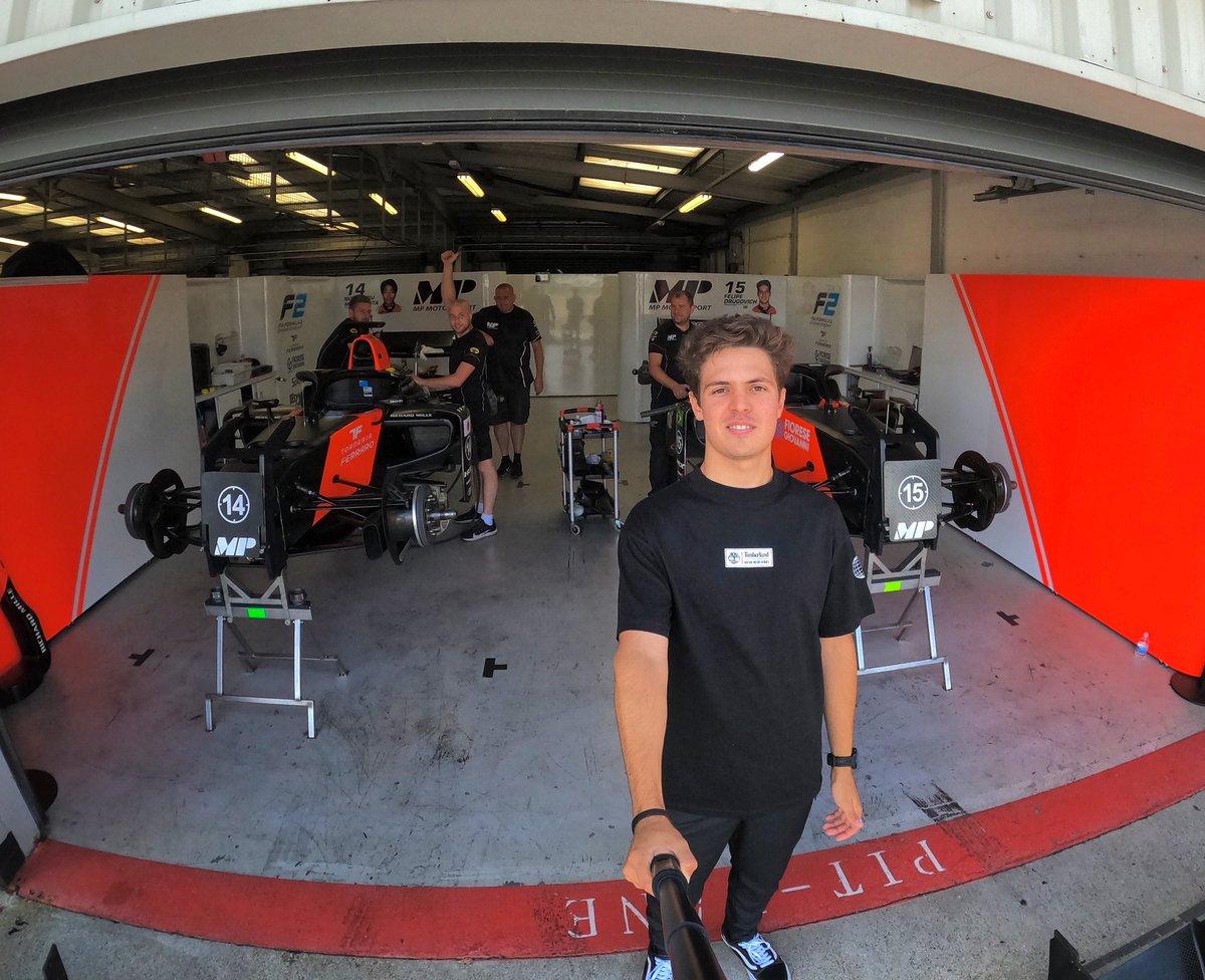 READY 💪 RACE WEEK #f170 #fiaf2 #formula2 #britishgp https://t.co/XYyPOhkBhj