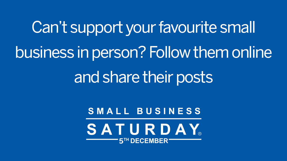 Love an independent #smallbiz and their products, but can't visit them in person? Check out their online services, follow them on social media, share their posts and tell all your friends! pic.twitter.com/ehlVOvBfen