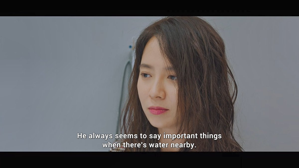 Oh daeoh ♡ Noh aejong, and water.. So when aejong said important things daeoh said, she mean these.  #WasItLove pic.twitter.com/v1S7cPsIys