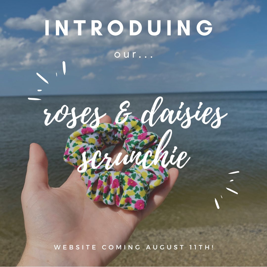 introducing our roses & daisies scrunchie!  our website is coming august 11th! #scrunchies #scrunchiesforsale #scrunchie #rose #daisy #summer #smallbusiness #smallbusinessowner #supportsmallbusinesses #smallbiz #smallbizowner  #supportsmallbusinessowners #loleaccessoriespic.twitter.com/LMv4RYhUUy