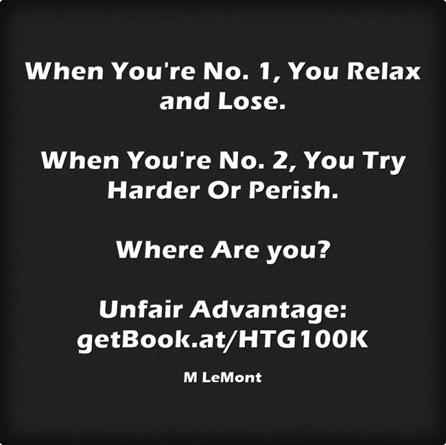 When You're 1...  http://getBook.at/HTG100K Twitter SocialMedia SmallBiz Opportunities Marketing SMM Sales pic.twitter.com/kNbsS7DcxH