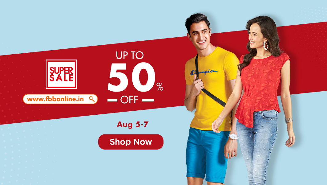 #SuperSale is here with exciting offers for everyone on https://t.co/QGuGR7ZRna. Shop now and avail amazing discounts on your favourite fashion apparels!  Click here: https://t.co/crnXHpACml https://t.co/K1ylZL4lJy