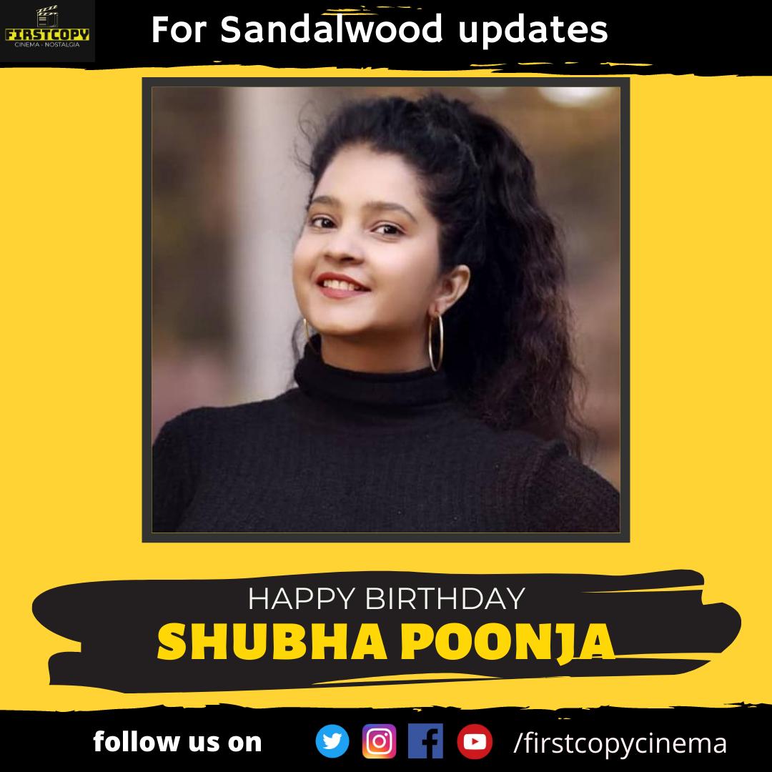 #Happybirthday Shubha Poonja  #Sandalwood #Kannadamovies #Kannadacinemapic.twitter.com/7FYdqJBHzz
