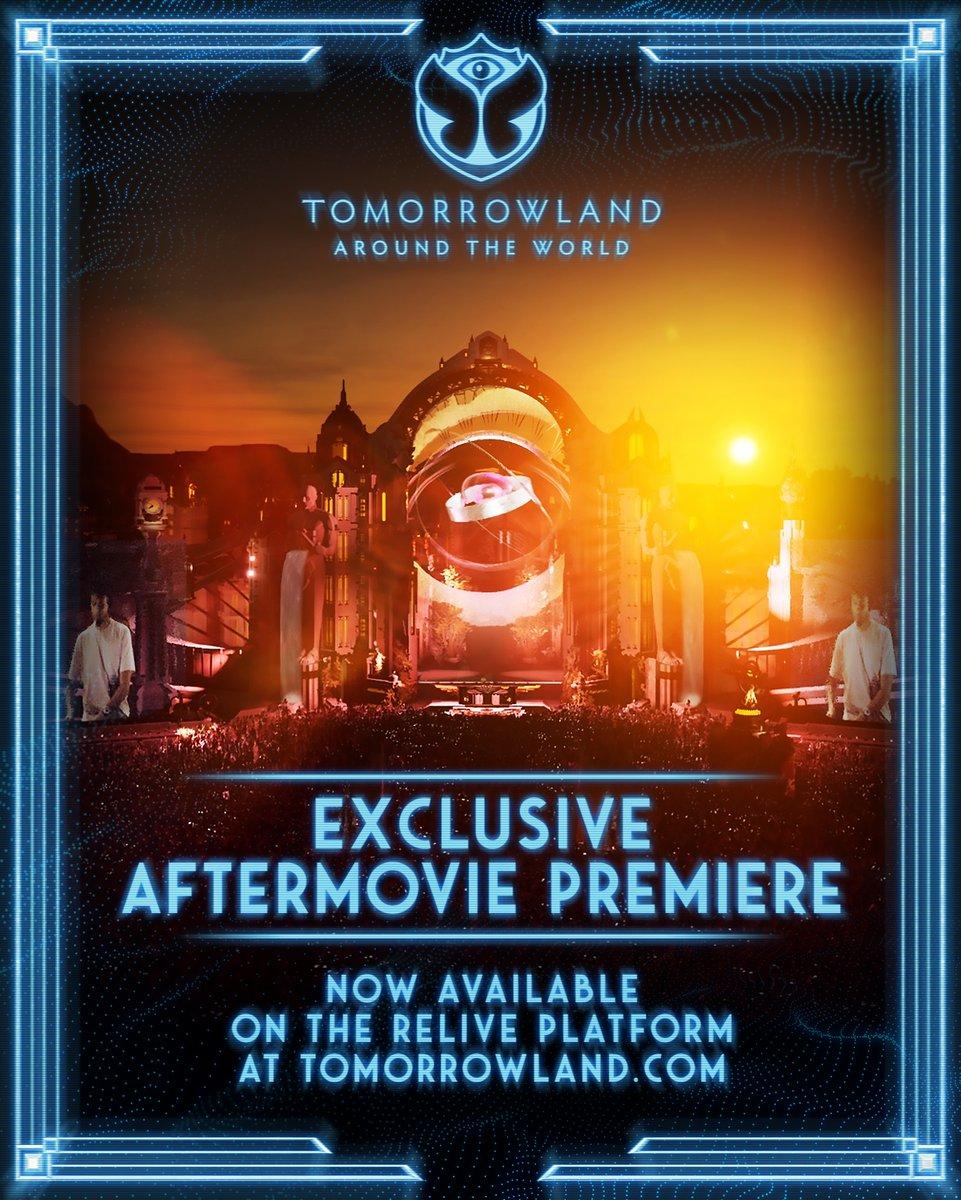 #VibezNews  🚨  Saiuuuu o aftermovie da edição virtual do Tomorrowland! Para assistir, acesse o mainstage através da plataforma de streaming do festival!