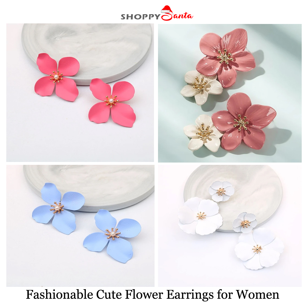 Order Fashionable Cute Flower Earrings for Women at Free Of Cost. Shop Now!  Checkout ShoppySanta Freebies Section.  Product Link:https://bit.ly/31fNceA  #flowerearrings #fashionearrings #metalearrings #earrings #ShoppySantapic.twitter.com/axgyPSgzSD
