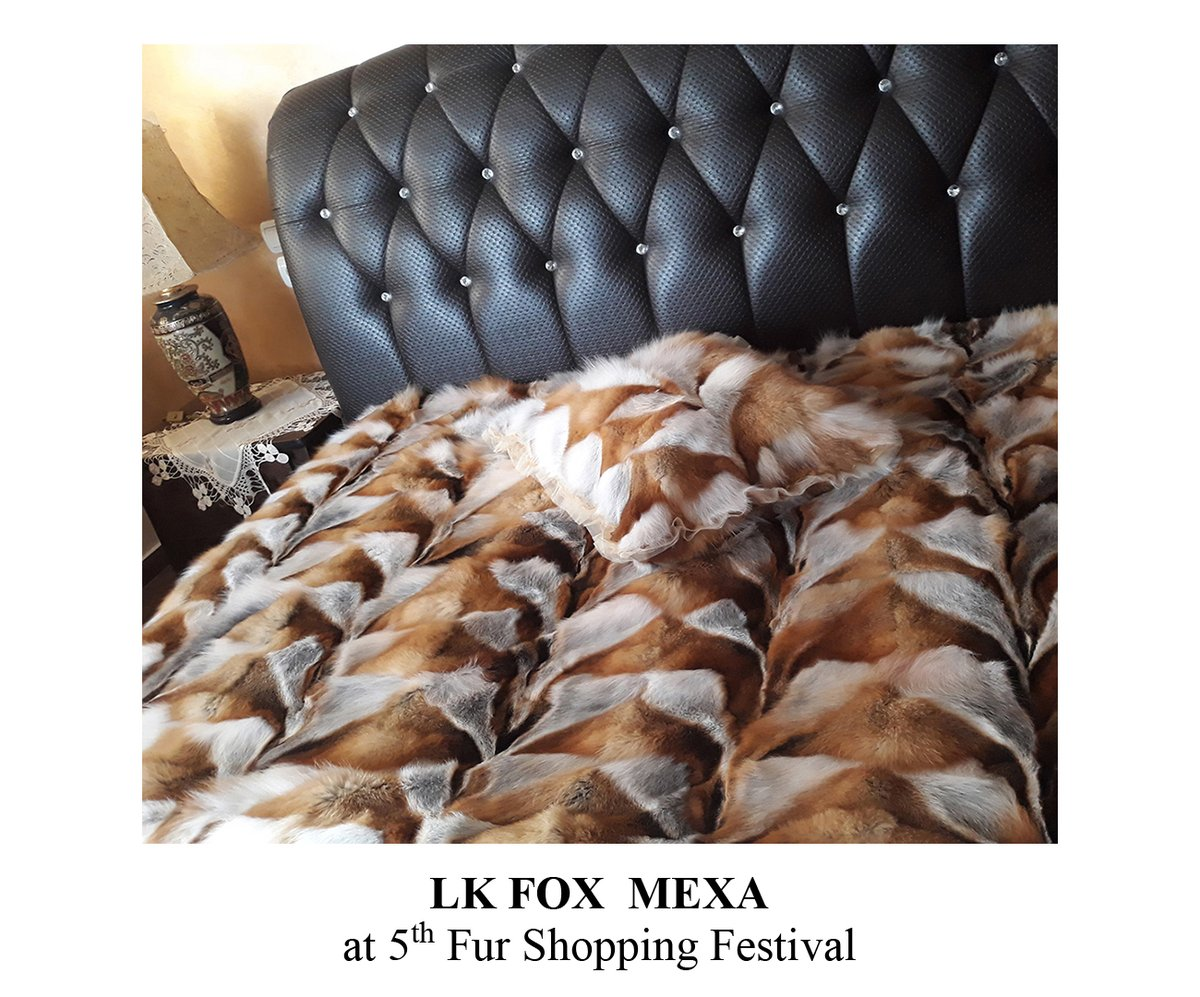 L.K. Fox Mexa will showcase the blankets of your dreams during Fur shopping Festival. Don't miss the chance to be cozy at home! #furshoppingfestival #shoppingtherapy #kastoria #kastoriafurcity #todayimwearing #fur #furs #furfashion #aw20 #trends #fw #shopping #меха #Interiors https://t.co/zTan3VzSga