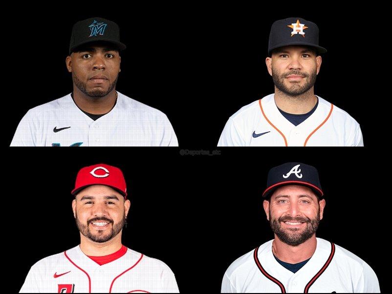 Estos son los jonroneros venezolanos en la jornada de este martes en #MLB: Jesús Aguilar (#Marlins) 3 José Altuve (#Astros) 2 Eugenio Suarez (#Reds) 1 Francisco Cervelli (#Marlins) 1 #MLBVenezuela #Venezuela pic.twitter.com/wMxGhKP4dM