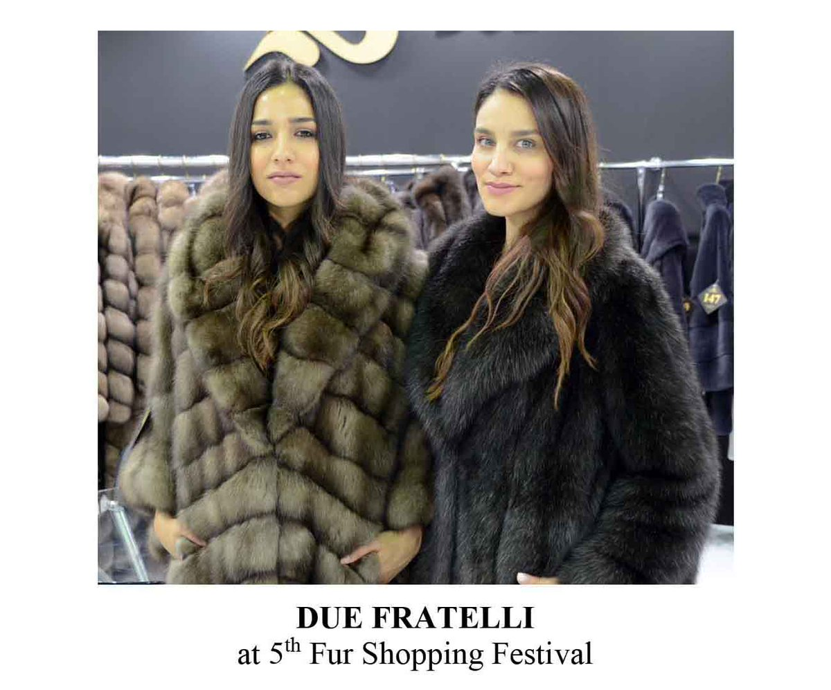 DUE FRATELLI create highly quality sable collections and not only. Come to discover new trends, at 5th Fur Shopping Festival, 30.9 – 3.10.2020 https://t.co/x2m9X3SMrq  #furshoppingfestival #kastoria #kastoriafurcity #fur #furs #furfashion #fashion #fair #trends #fw #меха https://t.co/8MDo8il4ma
