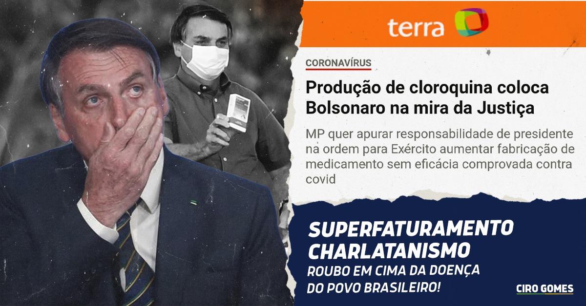 Estão roubando em cima da doença do povo brasileiro! https://t.co/GhAl9fukPJ