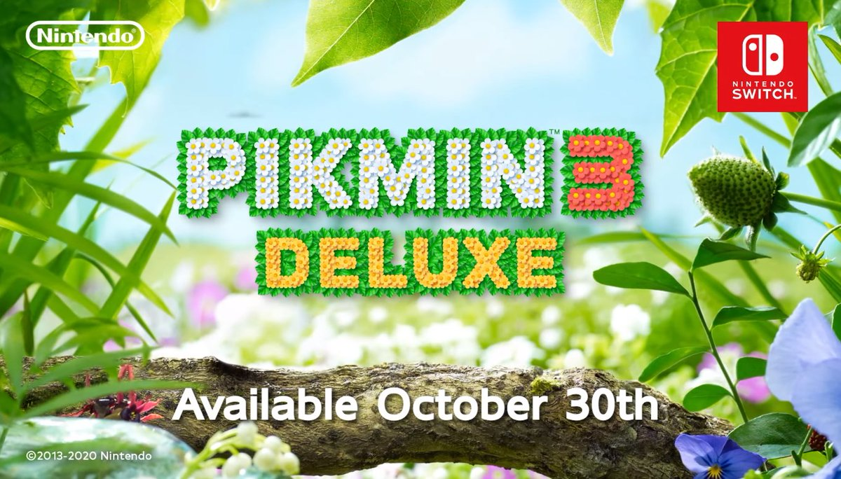 Pikmin 3 Deluxe – Announcement Trailer - Nintendo Switch (out Oct 30th) 2