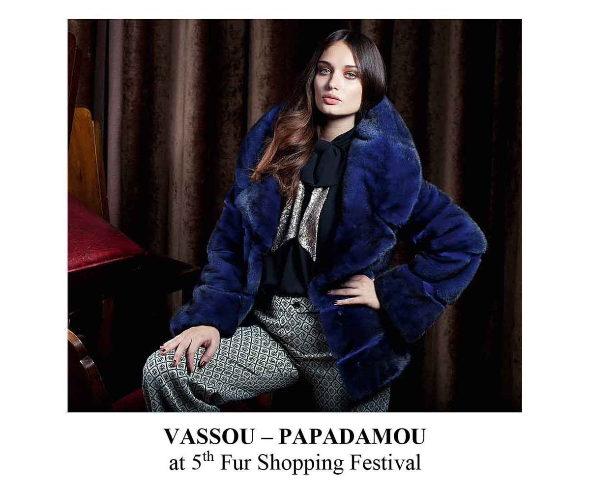 Vassou – Papadamou blue trend color for AW20 is here! Don't miss the chance to meet them during Festival!  #furshoppingfestival #kastoria #kastoriafurcity #fur #furs #furfashion #womenswear  #fashion #fashioninsta #fashiondaily #fair #aw20 #trends #fw #shopping #меха https://t.co/RE1y8Z0gYY
