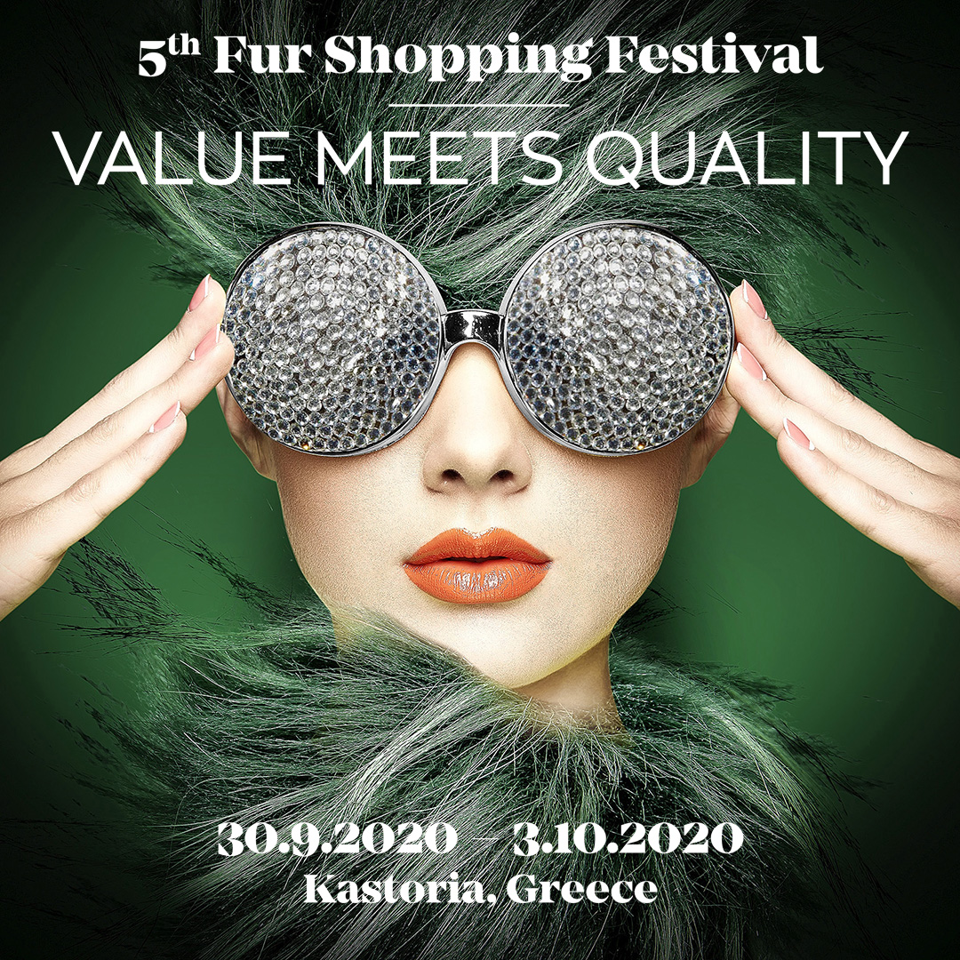 5th FUR SHOPPING FESTIVAL - Value Meets Quality 30 September – 3 October, 2020 https://t.co/C5wcDpgqUi #furshoppingfestival #kastoria #kastoriafurcity #fur #furs #furfashion #womenswear  #fashion #fashioninsta #fashiondaily #exhibition #aw20 #trends #fw #shopping #меха https://t.co/Hb0CE9lTst