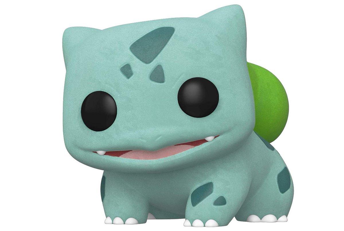 Funko Pop! Games: Pokemon - Flocked Bulbasaur $11.60 via Amazon (Prime Eligible). 2